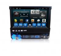 """Автомагнитола 1DIN Android 6.0 с выдвижным 7"""" экраном (Carmedia QR-7123)"""