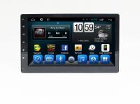 Автомагнитола 2 Din Android 6.0 для нештатной установки, со съемной панелью экрана (Carmedia QR-1010)