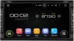 Универсальная магнитола 2DIN(178х100), 8 ядер, Android 6.0 c DVD приводом для Nissan и многих других (Carmedia KDO-6952)