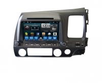 Штатная магнитола Honda Civic (Mstar QR-8008)